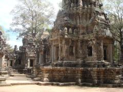 Angkor Thom is actually larger than Angkor Wat