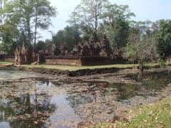 Banteay Srei is a small temple